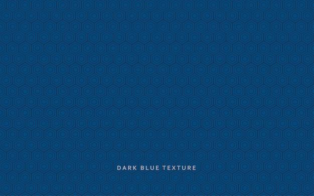 Abstrait moderne motif fond bleu foncé