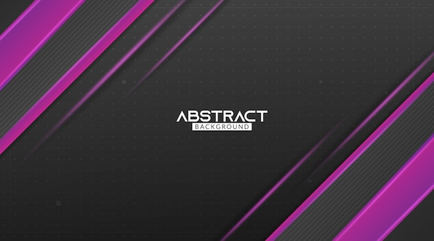 Abstrait moderne noir et violet