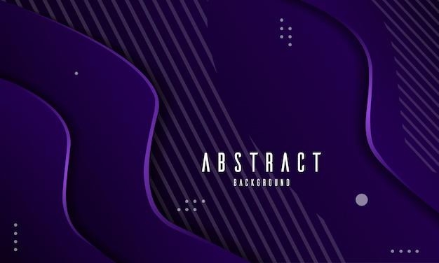 Abstrait moderne papier violet coupé de fond