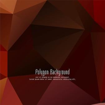 Abstrait moderne polygonale