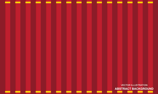 Abstrait moderne rouge avec design de lignes