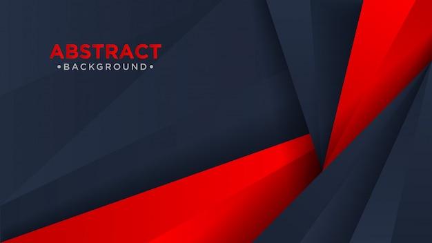 Abstrait moderne sombre et rouge.