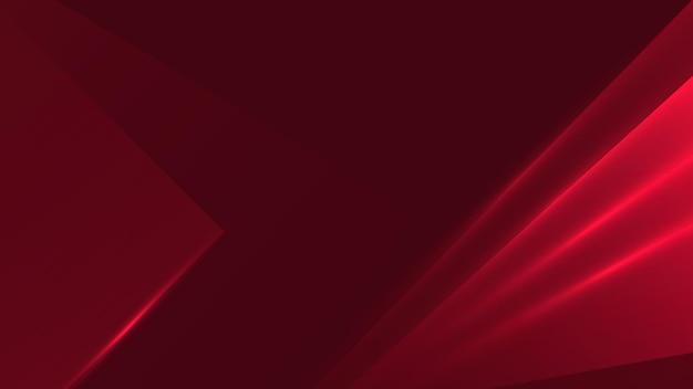 Abstrait, moderne, triangle, formes, design, ligne, lumière, rouge, rouge foncé dégradé fond d'écran vector illustration