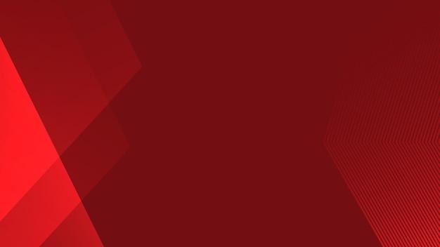Abstrait, moderne, triangle, formes, design, ligne, rouge, fond d'écran dégradé rouge foncé fond illustration vectorielle