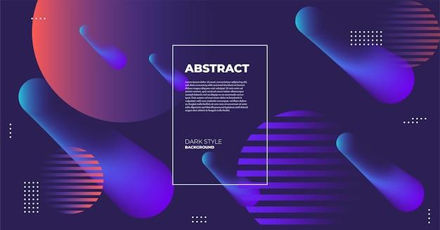 Abstrait moderne violet foncé