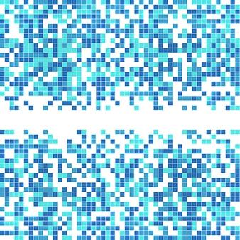 Abstrait de la mosaïque numérique. modèle géométrique.