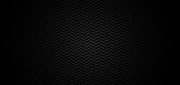 Abstrait motif chevron fond noir