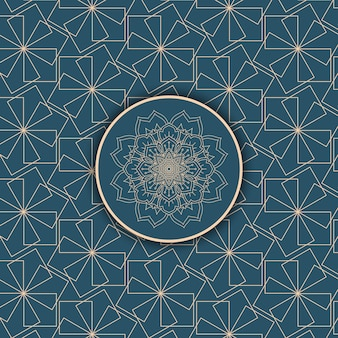 Abstrait avec un motif décoratif