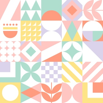 Abstrait motif géométrique sans soudure.
