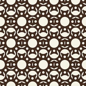 Abstrait motif monochrome sans soudure