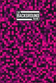 Abstrait avec motif de pixels