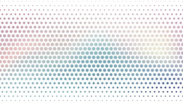 Abstrait avec motif de points de demi-teintes