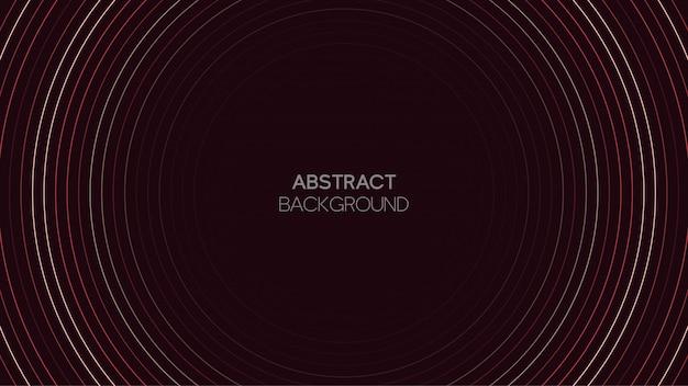 Abstrait avec motif radial