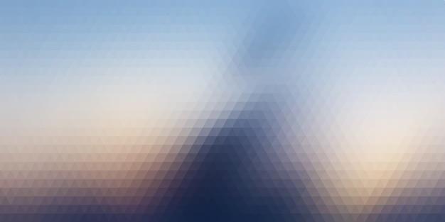 Abstrait avec motif triangulaire