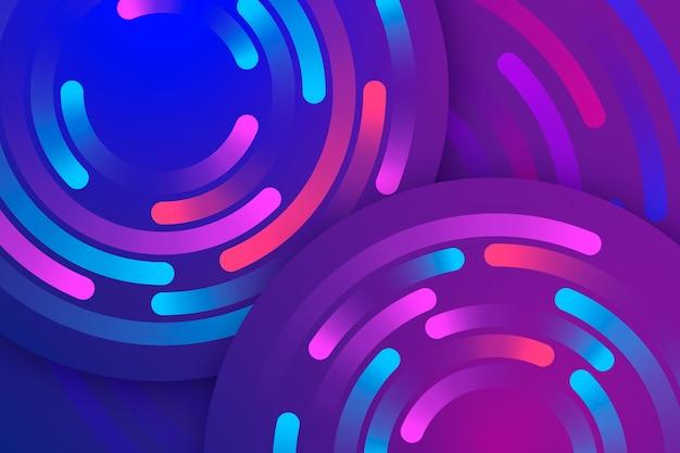 Abstrait multicolore avec des formes