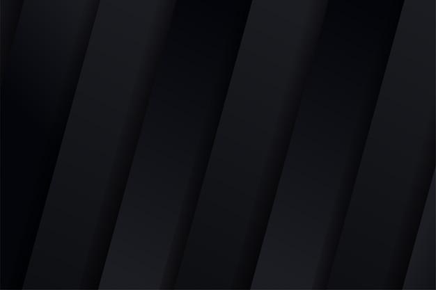 Abstrait noir d'affaires élégant et minimaliste