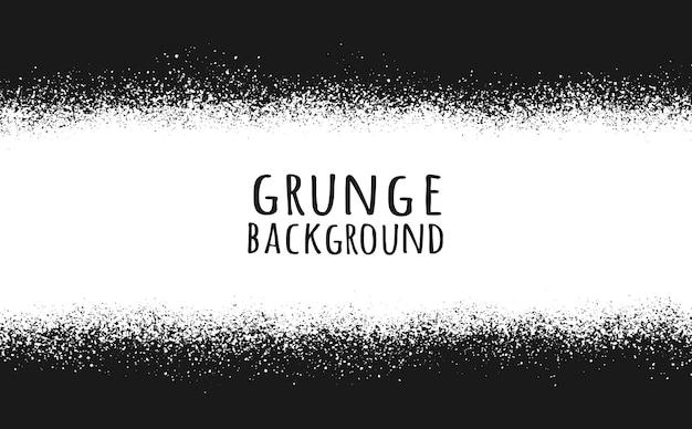 Abstrait noir et blanc grunge