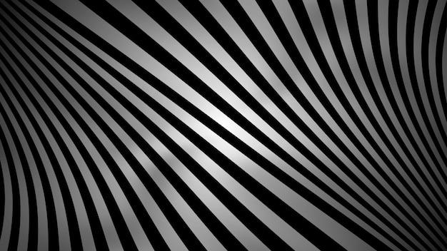 Abstrait noir et blanc avec un style géométrique