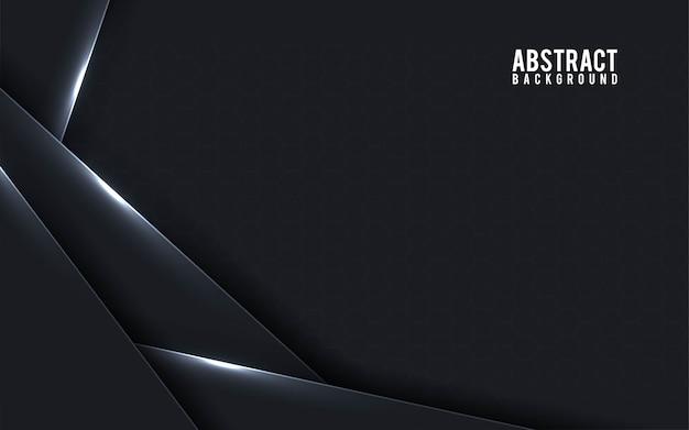 Abstrait noir et blanc - vecteur