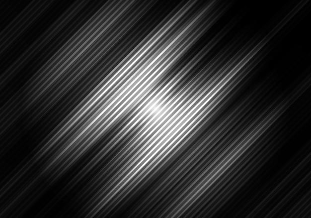 Abstrait noir et blanc