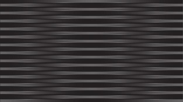 Abstrait noir brillant