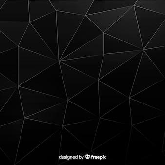 Abstrait noir moderne avec des formes
