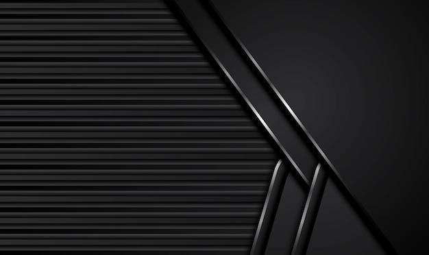 Abstrait noir.