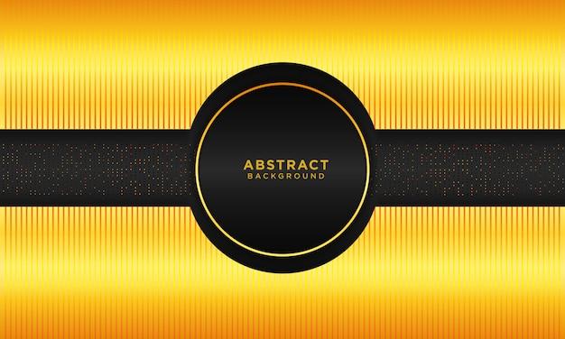 Abstrait or cercle avec texture et paillettes