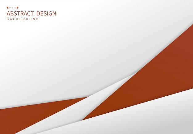 Abstrait orange de luxe d'arrière-plan de conception de modèle premium.