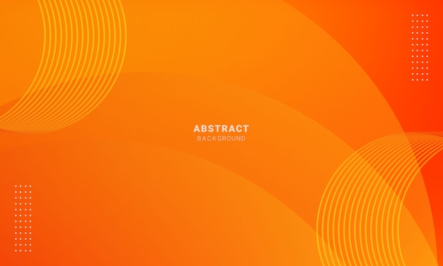 Abstrait orange minimal, fond simple avec demi-teintes
