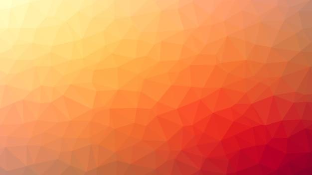 Abstrait orange triangle diamants