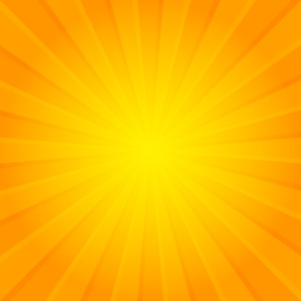Abstrait orange