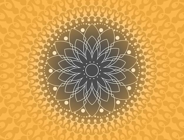Abstrait avec ornement mandala