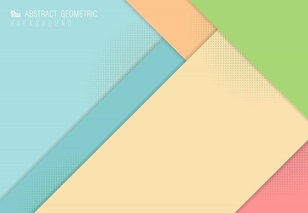Abstrait pastel