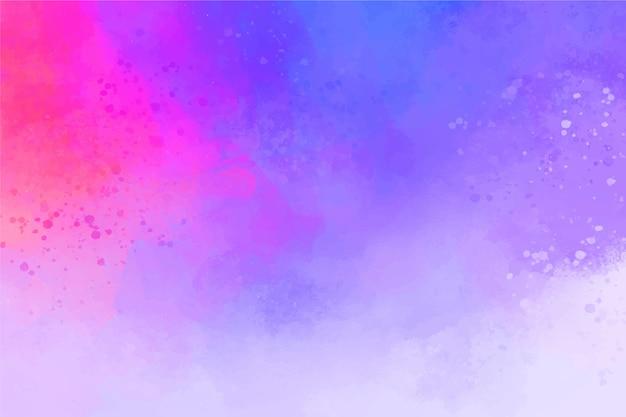 Abstrait peint à la main