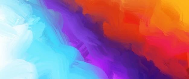 Abstrait de peintures acryliques. toile de fond moderne et colorée.