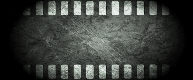 Abstrait de la pellicule grunge sombre. conception de vecteur