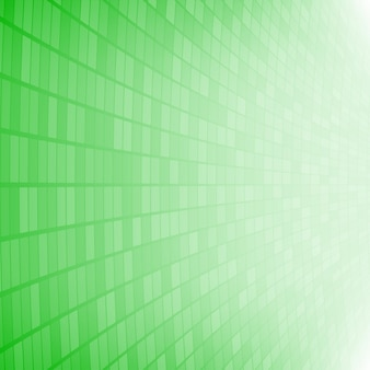Abstrait de petits carrés ou pixels en couleurs vertes