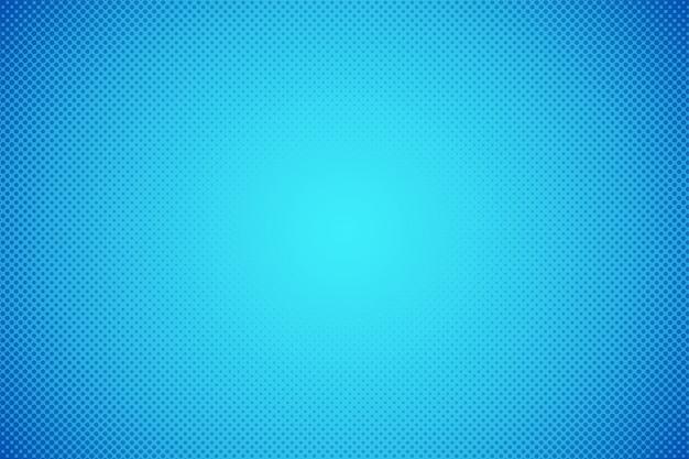 Abstrait. points de demi-teintes bleu dégradé.