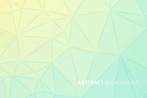 Abstrait polygonal