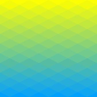 Abstrait polygonale du losange
