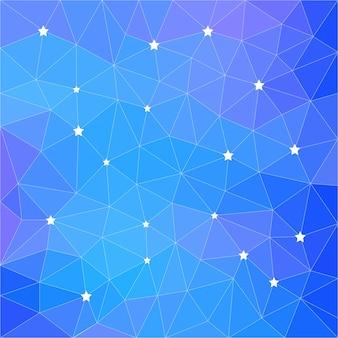 Abstrait polygonale. modèle vectoriel triangle low poly à utiliser dans la carte de conception, l'invitation, l'affiche, le t-shirt, le foulard en soie, l'impression sur textile, tissu, vêtement, impression de sac, etc.