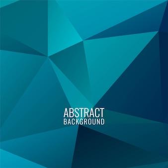 Abstrait polygonale moderne