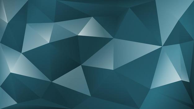 Abstrait polygonale de nombreux triangles en couleurs grises
