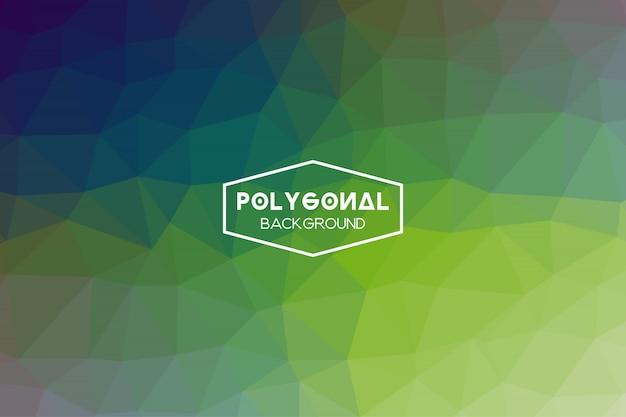 Abstrait polygonale