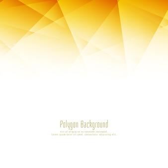 Abstrait polygone lumineux