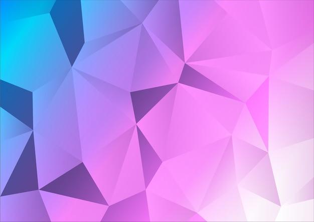 Abstrait polygone