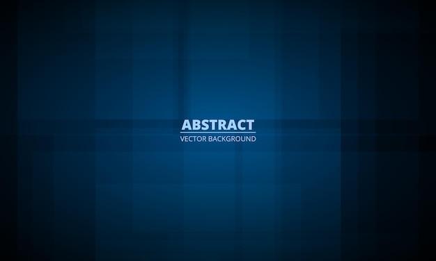 Abstrait de présentation bleu foncé avec concept d'entreprise moderne
