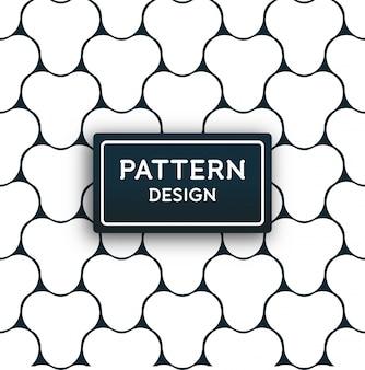 Abstrait propre motif géométrique minimal