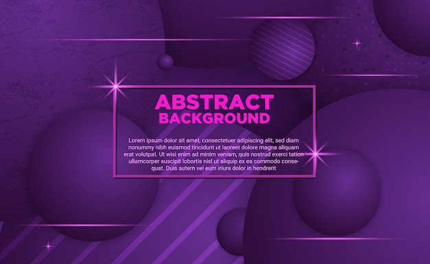 Abstrait purple ball